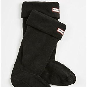 Hunter Tall Boot Socks: Black